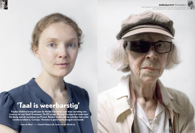 Publication 'Froukje Slofstra' (photo left) | Hollands Diep, 2010