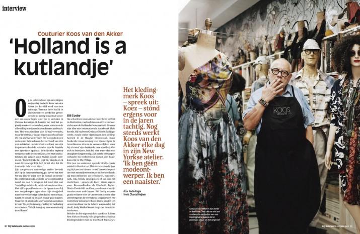 Koos van den Akker, Dutch designer in NY | October 2011