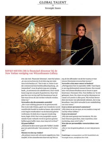 Publication 'Rifko Meijer - Witzenhausen Gallery NY' | 2009