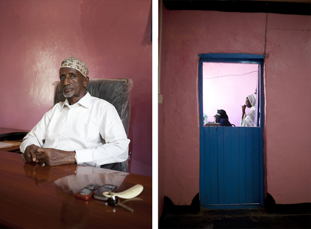 Ismail Haiji Nuur, Mayor of Erigavo, one of the three larger cities in the northeast of Somaliland