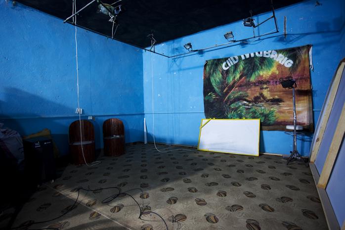 TV studio in Hargeisa