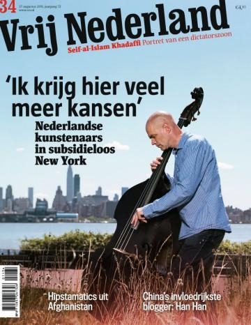 Dutch Artist in NY | Vrij Nederland, August 2011