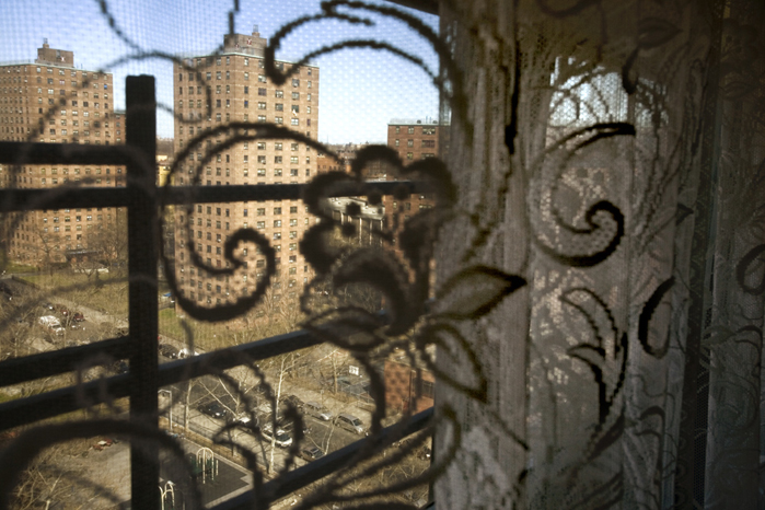 View outside Mary's home, 169th and Park Ave, 2008