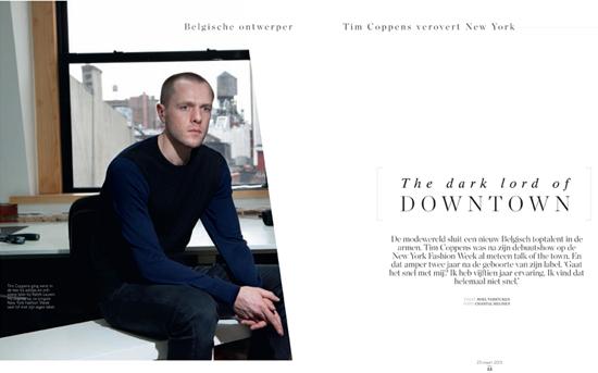 Fashion Week Star Tim Coppens March 23 2013 Chantal